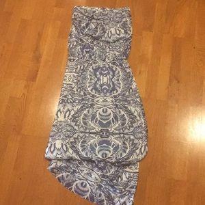 Cynthia Rowley Printed Maxi Dress